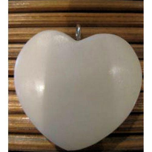 pendentif tagua Coeur