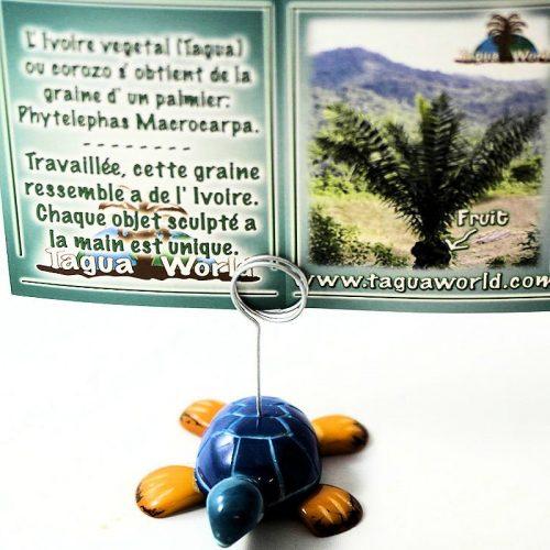 Porte carte tortue