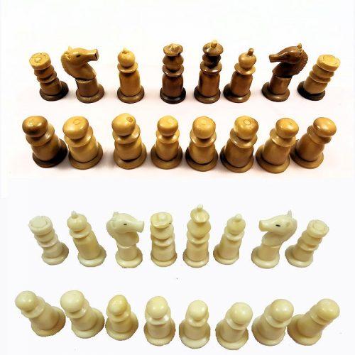 Pièces de Jeu d'échecs en tagua