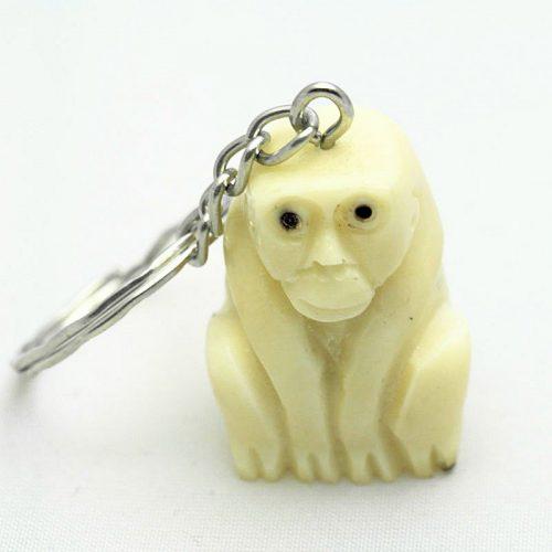 Porte clé singe tagua