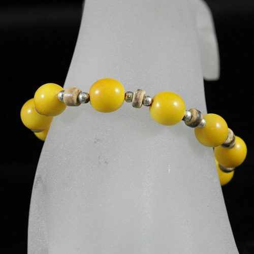 Bracelet perles tagua et coco