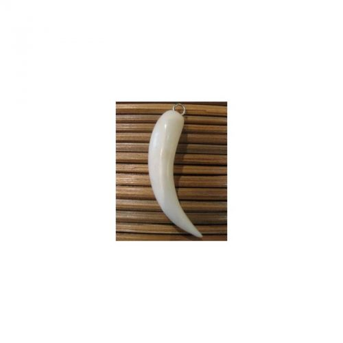 pendentif tagua dent
